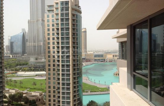 Affordable 2BR apartment with Burj Khalifa view